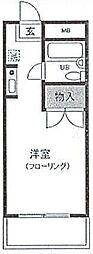 神奈川県横浜市西区西戸部町1丁目の賃貸マンションの間取り