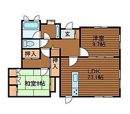 [一戸建] 神奈川県相模原市南区上鶴間本町7丁目 の賃貸【/】の間取り