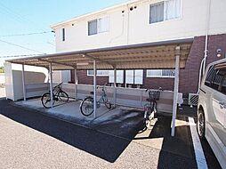 岐阜県加茂郡坂祝町黒岩の賃貸アパートの外観