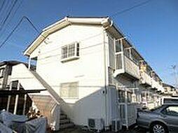埼玉県鴻巣市人形2丁目の賃貸アパートの外観
