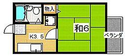 サンクレール2号館[2階]の間取り