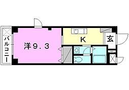 ベニール21[301 号室号室]の間取り
