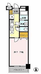 プチメゾンIZUMI  Droom[3階]の間取り