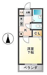 リヴィン361[2階]の間取り