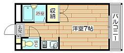メゾンリヴェールII[3階]の間取り