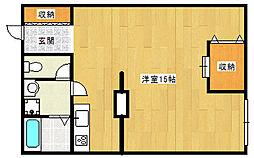 センターコート・アネックス[3階]の間取り