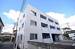 栃木県宇都宮市一条4丁目の賃貸マンションの外観