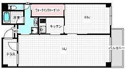 エフスタジオ ベロニカ[2階]の間取り