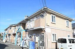 東京都昭島市田中町2の賃貸アパートの外観