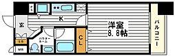 カスタリア堺筋本町[12階]の間取り