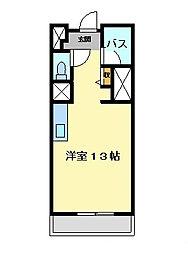 プリマヴェール名駅ノルテ[4階]の間取り