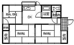 [一戸建] 宮崎県宮崎市大字小松 の賃貸【/】の間取り