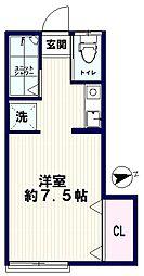 AZUMI-SOU(アズミソウ)[105号室]の間取り