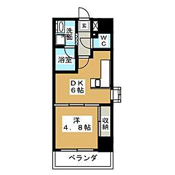 DOMUS21[11階]の間取り