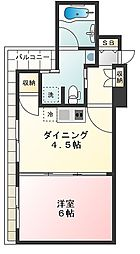 東武ハイライン戸越銀座[405号室]の間取り