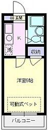 エマーユ川越東田町[303号室号室]の間取り
