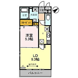 (仮)D‐room粕壁東2丁目[3階]の間取り