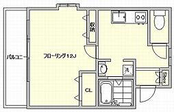 アミティエ博多南[6階]の間取り