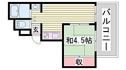 三景ビル[5階]の間取り