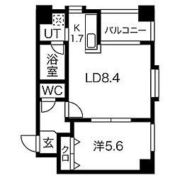ノヴァ・クリスタル[3階]の間取り