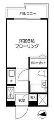 東京都足立区梅田6の賃貸マンションの間取り