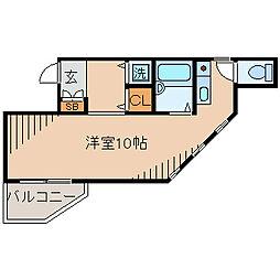 WOODBELL QUATTRO[3階]の間取り