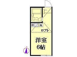 Y's Place東寺尾[1階]の間取り