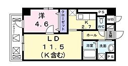 ウェスト宮ノ下[305号室号室]の間取り