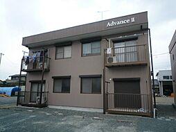 静岡県掛川市中の賃貸アパートの外観