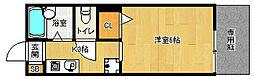 京都府京都市南区東九条中御霊町の賃貸アパートの間取り