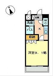 彩城(I)[1階]の間取り