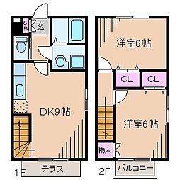 [テラスハウス] 神奈川県横浜市神奈川区菅田町 の賃貸【/】の間取り