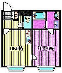 ベルピア熊谷第4[1階]の間取り