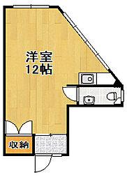 玉城マンション[2階]の間取り