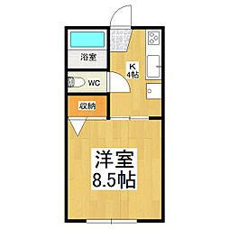パインヒル[2階]の間取り
