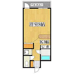 ルセルポ[2階]の間取り