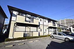 栃木県宇都宮市戸祭3丁目の賃貸アパートの外観
