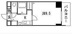 プレサンス東別院駅前コネクション[4階]の間取り