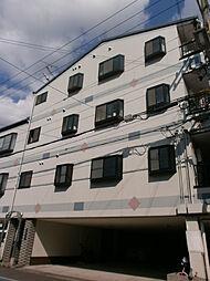 ハナキマンション[203号室]の外観