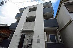 兵庫県西宮市鳴尾町2丁目の賃貸アパートの外観