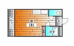 新三田オレンジハイツ[3階]の間取り