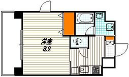 アスヴェル京都四条烏丸[12階]の間取り