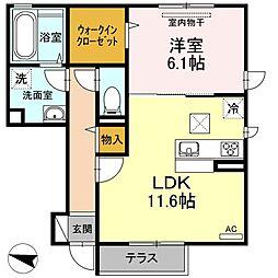 (仮)D-room出雲市高松町[1階]の間取り