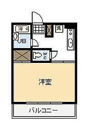 第2谷口コーポ(大字恒久)[306号室]の間取り