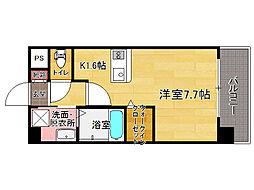 エンクレストベイ天神東II[11階]の間取り