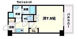 アーデン江坂III[6階]の間取り