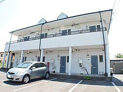 栃木県宇都宮市清原台5丁目の賃貸アパートの外観