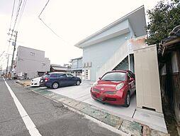 岡山県玉野市玉2丁目の賃貸アパートの外観