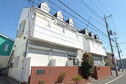 埼玉県川口市芝西2丁目の賃貸アパートの外観