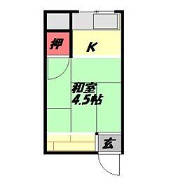 西三荘駅 1.4万円